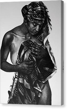 The Bather Canvas Print by Curtis James