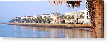 The Battery, Waterfront, Charleston Canvas Print by Panoramic Images