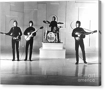 The Beatles, 1965 Canvas Print by Granger