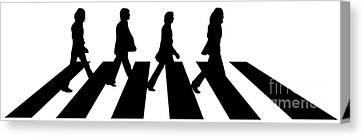 The Beatles No.02 Canvas Print by Caio Caldas