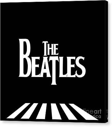 The Beatles No.03 Canvas Print by Caio Caldas