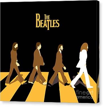 The Beatles No.19 Canvas Print by Caio Caldas