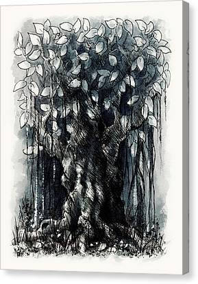 The Beautiful Tree Canvas Print by Rachel Christine Nowicki
