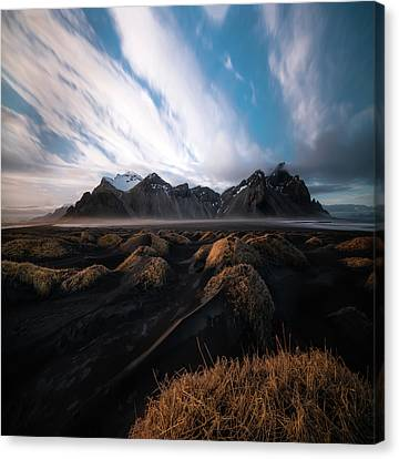 the Beauty of Iceland Canvas Print by Larry Marshall