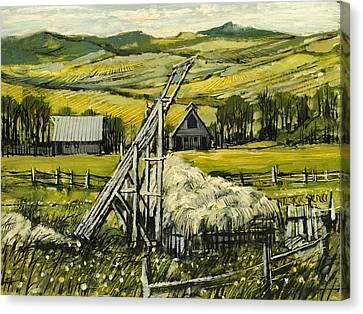 The Beaver Slide Canvas Print by Steve Spencer
