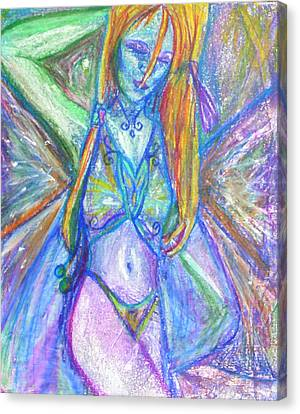 The Belly Dancer Canvas Print by Sarah Crumpler