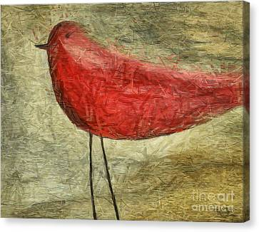 The Bird - Ft06 Canvas Print by Variance Collections