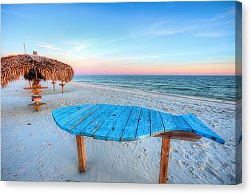 The Blue Fish Canvas Print by JC Findley