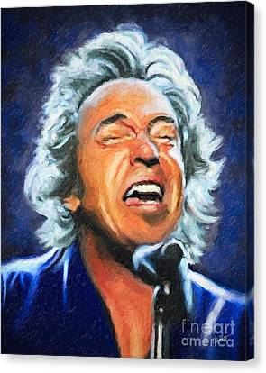 The Boss Canvas Print by Michael Petrizzo