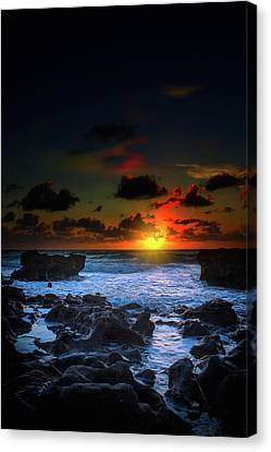The Break Of Dawn Canvas Print by Mark Andrew Thomas