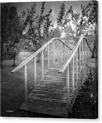 The Bridge 2 Canvas Print by John Krakora