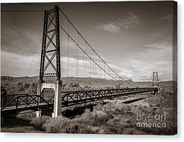 The Bridge To Nowhere Canvas Print by Robert Bales