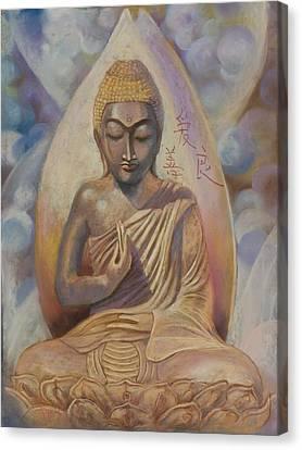 The Buddah Canvas Print by Pamela Mccabe