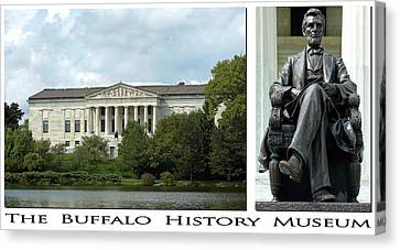The Buffalo History Museum Canvas Print by Peter Chilelli