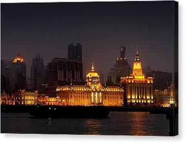 The Bund - More Than Shanghai's Most Beautiful Landmark Canvas Print by Christine Till