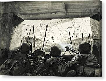 The Bunker  Canvas Print by Graham Coton