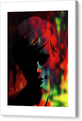 The Burning Flame Inside Me Canvas Print by Steve K