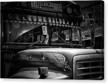 The Bus Esmeralda Canvas Print by Tom Bell