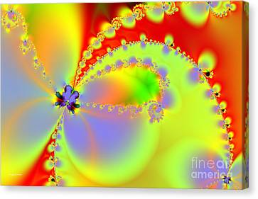 The Butterfly Effect . Summer Canvas Print by Wingsdomain Art and Photography