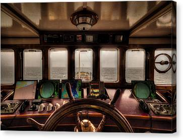 The Captain's View Canvas Print by Mountain Dreams