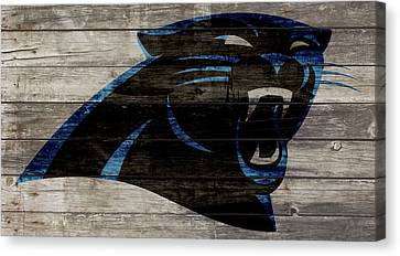 The Carolina Panthers W1 Canvas Print by Brian Reaves