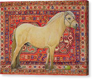 The Carpet Horse Canvas Print by Ditz