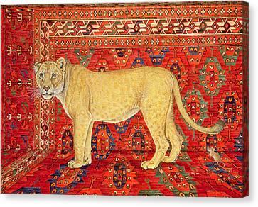The Carpet Mouse Canvas Print by Ditz