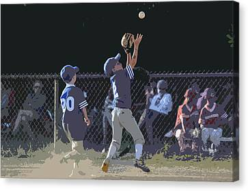 The Catch Canvas Print by Peter  McIntosh