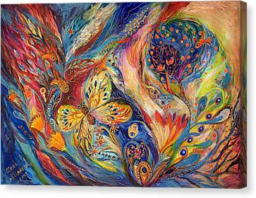 The Chagall Dreams Canvas Print by Elena Kotliarker