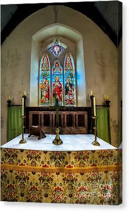 The Chancel Canvas Print by Adrian Evans