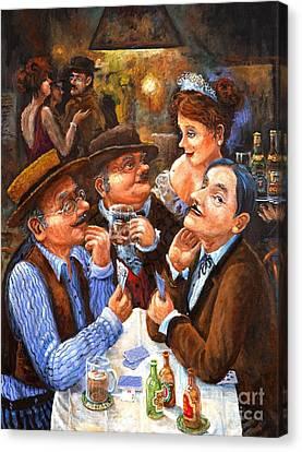 The Cheater Canvas Print by Igor Postash