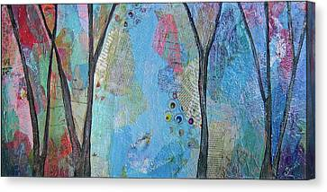 The Clearing I Canvas Print by Shadia Derbyshire