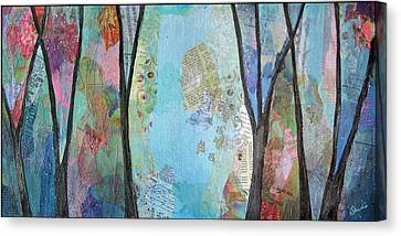 The Clearing II Canvas Print by Shadia