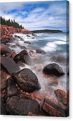 The Cliff   Canvas Print by Emmanuel Panagiotakis