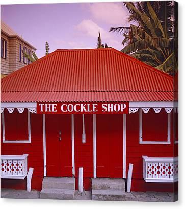 The Cockle Shop Canvas Print by Shaun Higson