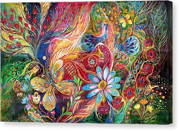 The Colors Of Spring. The Original Can Be Purchased Directly From Www.elenakotliarker.com Canvas Print by Elena Kotliarker