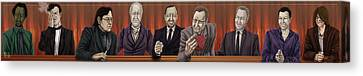 The Comedians Canvas Print by Annissa Wood