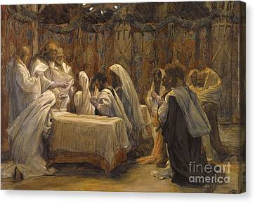 The Communion Of The Apostles Canvas Print by Tissot