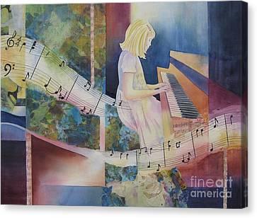 The Composition Canvas Print by Deborah Ronglien