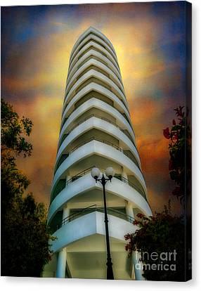 The Condominium Canvas Print by Adrian Evans