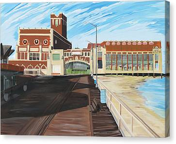 The Convention Hall  Asbury Park  Canvas Print by Patricia Arroyo