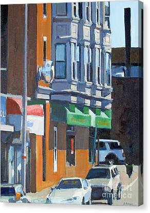The Corner Canvas Print by Deb Putnam