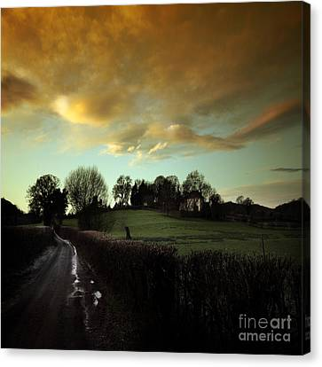 The Country Road Canvas Print by Angel  Tarantella