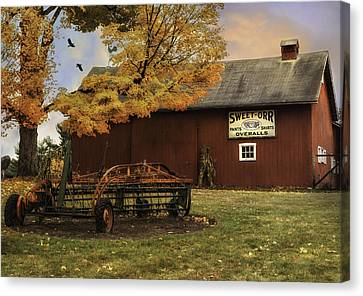 The Country Tack Shop Canvas Print by Thomas Schoeller