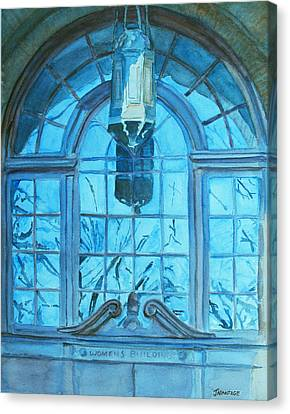 The Craftsmen Lantern Canvas Print by Jenny Armitage