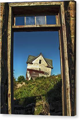 The Crooked House Canvas Print by Phil Koch