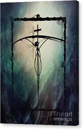 The Crucifix Canvas Print by Al Bourassa