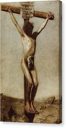 The Crucifixion Canvas Print by Thomas Eakins