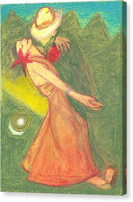 The Dance Canvas Print by Moneca AtleyLoring