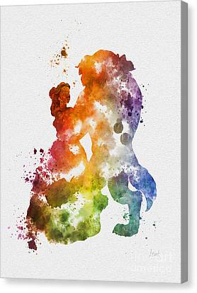 The Dance Canvas Print by Rebecca Jenkins
